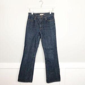 J. Crew Bootcut Jeans Dark Wash 8 TALL